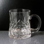 Personalised HALF Pint Crystal Tankard ref CHT3